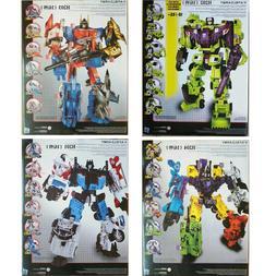 New Transformers 6 in 1 Destroyer Bruticus Defensor Superion