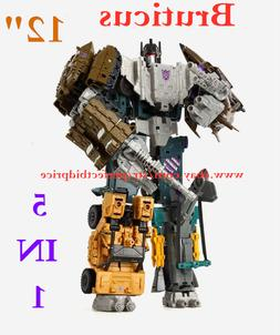 New Transformers Bruticus HZX 5 In 1 Action Figure IDW KO Ki