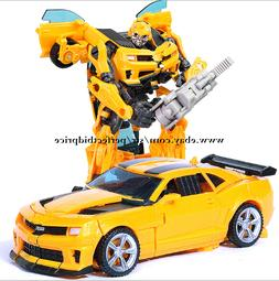 New Transformers HZX Bumblebee Movie Voyager Class Action Fi