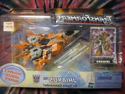NIB - Decepticon Jhiaxus - Transformers Robots In Disguise -