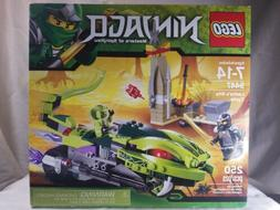 LEGO Ninjago 9447 Lasha's Bite Cycle - New in Factory Sealed