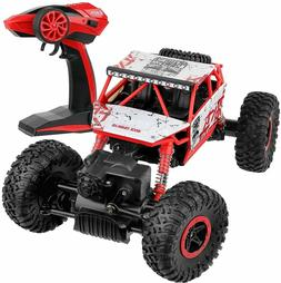 NWOB Click N Play Rock Crawler RC Car Red Vehicle