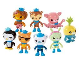 Octonauts Action Figures Playset 8 Pack Best Birthday Gift