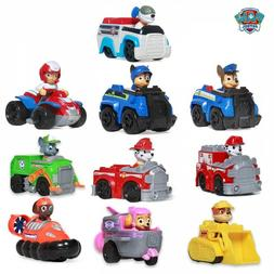Paw Patrol Dogs Car Toys Action Figures Model Toy Chase Mars