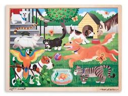 Melissa & Doug Pets at Play Jigsaw Puzzle