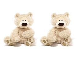 Gund Philbin Teddy Bear Stuffed Animal, Twin Pack
