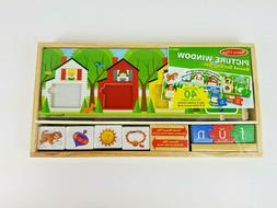 Melissa & Doug Picture Window Sound Sorting Wooden Activity