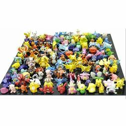 Pikachu Pokemon Action Figures Toy Lot 144 Pcs Go Mini 2 3 C