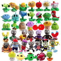 Plants vs Zombies 2 PVZ Figures Plush Baby Staff Toy Stuffed