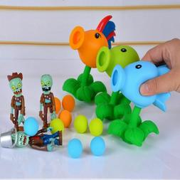 Plants Vs Zombies Action Figure Toy Game PVC Peashooter Mode