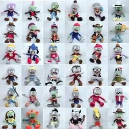 Plants vs Zombies PVZ Figures Plush Baby Staff Toy Stuffed S