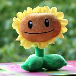 plants vs zombies series plush toy sunflower