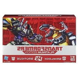 Transformers Platinum Edition - Grimlock Vs. Decepticon Brut