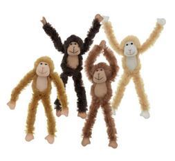 "18"" Plush Hanging Monkey STUFFED ANIMAL monkeys SOFT HANDS t"