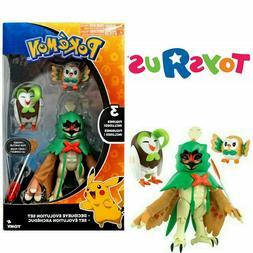 Pokemon Evolution Set Decidueye, Dartrix & Rowlet Toys R Us