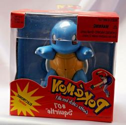 Pokémon SQUIRTLE Hasbro Toy 1998  NIB