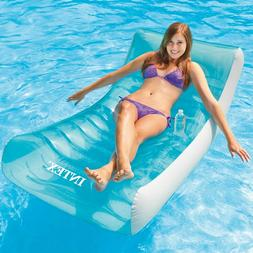 Pool Float Lounge Chair Inflatable Party Chair Raft Water To