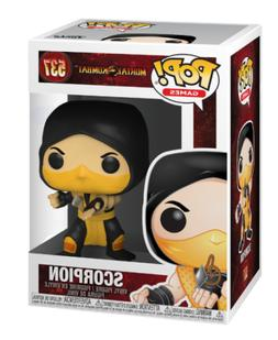 Funko Pop! Games: Mortal Kombat - Scorpion Vinyl Figure