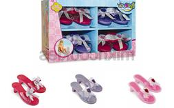 Kidoozie Princess Dress Up Shoe Set – 4 Pairs of Slip On P