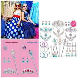 Princess Jewelry Toy Set Dress Up Pretend Play Costume Party