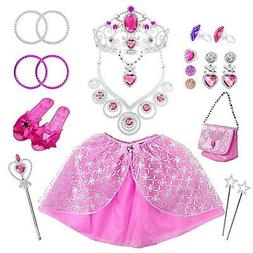 Princess Pretend Jewelry Girl's Toys, Girl's Jewelry Dress