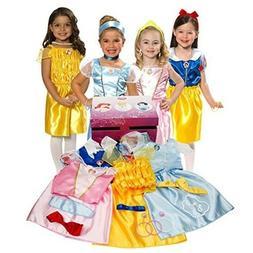 Disney Princess Royal Dress Up Trunk Exclusive Gift Set Girl
