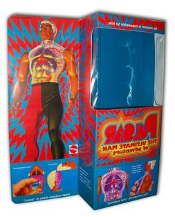 "Mattel PULSAR  Box for 12"" Action Figure"
