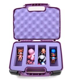 Purple Toy Case Fits LOL Surprise Dolls and LOL Dolls Access