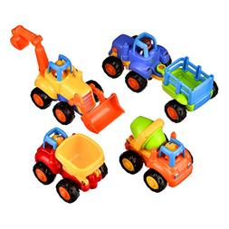 Coolecool Push and Go Pull Back Vehicles Friction Powered Ca