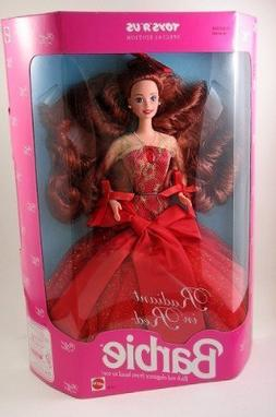 Radiant in Red Barbie Doll Toys R Us Special Edition 1992 Ma