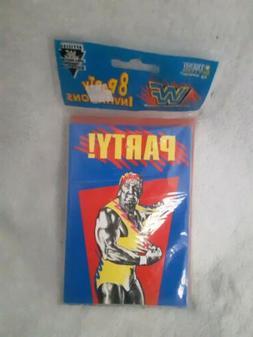 Rare WWF HULK HOGAN Birthday Invitation 1991, WWF HASBRO, WW