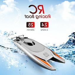 RC Boats 25KM/H High Speed Racing 2 Channels 2.4Ghz Remote C