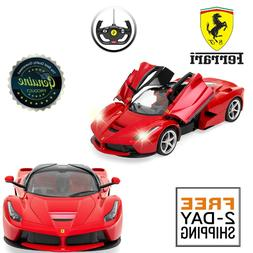 RASTAR RC Car | 1/14 Scale Ferrari LaFerrari Radio Remote Co