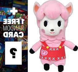 "Reese: ~8"" Animal Crossing Mini-Plush + 1 FREE Official Nint"