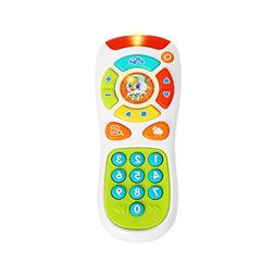 VATOS Baby Remote Control Toy Learning Lights Remote for Bab