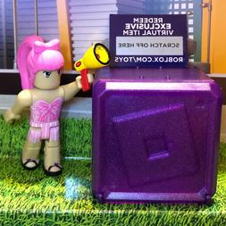 Details About Roblox Celebrity Collection Series 3 Mystery Pack Purple Cube - Coding Toys Toysfcom