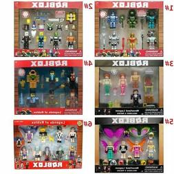 Roblox Robot Riot 4 Figure Pack Mix & Match Set Figure Toys