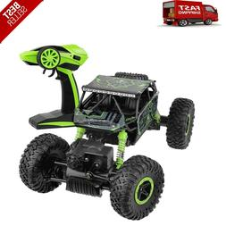 NEW Click N' Play Rock Crawler RC Car Green Vehicle