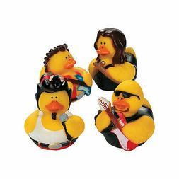 Fun Express Rock Star Rubber Duckies Toy