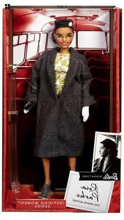 Rosa Parks Mattel Barbie Doll Inspiring Women Series with Ac
