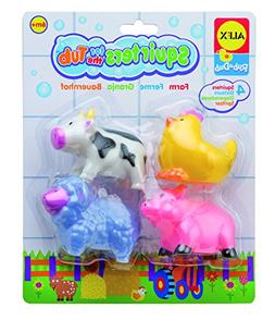 ALEX Toys Rub a Dub Squirters for the Tub - Farm