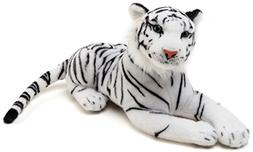 Saphed the White Tiger | 20 Inch Stuffed Animal Plush | By T