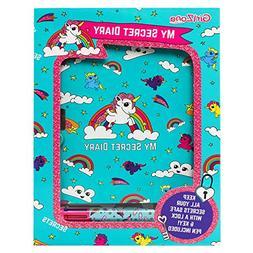 GirlZone: Secret Lockable Diary & Pen Gift Set, Birthday Pre