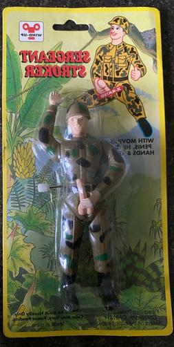 Sergeant Stroker Wind-Up Adult Novelty X-Rated Pipedreams Pr