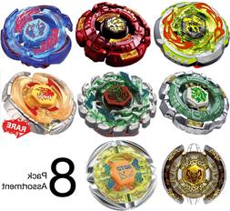 Wholesale Lot Pack of 8 Assorted Beyblades Metal Master Set