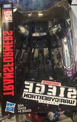 Shockwave Transformers Siege War For Cybertron Leader Class
