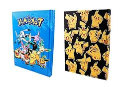 Silver Buffalo Pokemon Pikachu and Evi Hard Cover Journal No
