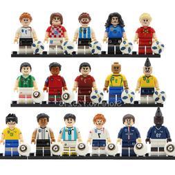 Single Sale Football <font><b>Player</b></font> Figure Model
