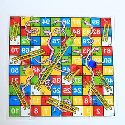 Snake and Ladder Flight Chess Board <font><b>Game</b></font>