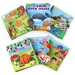 Wenasi Soft Book Preschool Cloth Books,Handmade Educational